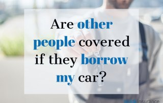 """alt=""""square blurry pic of a guy and a quote that says """"Are other people covered if they barrow my car?"""""""