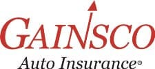 "alt=""Gainsco logo in red and black color fonts for 'Auto Insurance' at the bottom."""